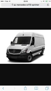 Looking for Mercedes sprinter W170 ,used 2015-17