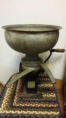 Vtg Antique Bradley Economy King Cast Iron Table Top Jr Cream Separator No. 152
