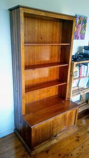 Bookshelf With Storage Box