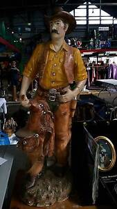 large 1950s cowboy statue in good condition Port Adelaide Port Adelaide Area Preview