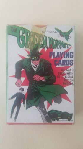 1966 GREEN HORNET PLAYING CARDS IN SEALED BOX