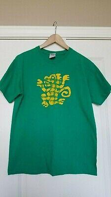 Legends of the Hidden Temple T Shirt green monkeys Adult size M - Legends Of The Hidden Temple Shirts
