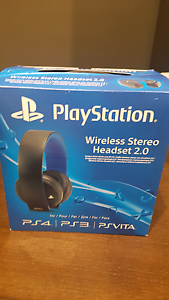 Sony wireless 2.0 headphone for ps3/ps4 Ellenbrook Swan Area Preview