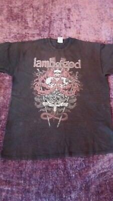 Lamb of God 2010 tour shirt donington download festival