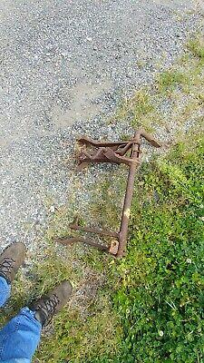 Farmall A Rear Rockshaft Lift. Handlift Plow