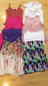 JR MISSES TANK TOP CAMI TANK DRESS LOT SIZE MED FOREVER 21 GERI C NWT MOSSIMO