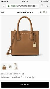MK small mercer bag