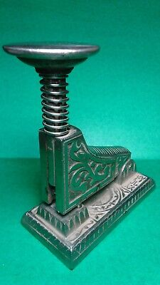 Antique Old Metal Vintage Stapler Hefter Around 1900 W Staples