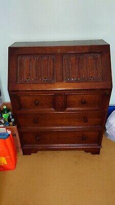 Wooden writing bureau