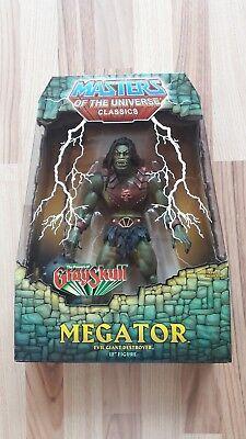 MEGATOR Erstauflage Masters of the Universe MOTUC NEU *RAR*Mit weißem Mailer  online kaufen