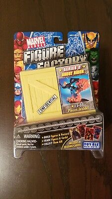 New Ghost Rider Figure Factory Series 2 Toy Biz 2005 15-35 Card Pieces Inside C8