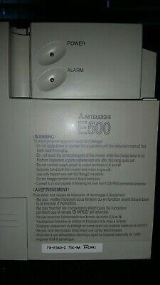 Mitsubishi Fr-e540-1.5k-na Inverter Vfd Amplifier Drive 3ph