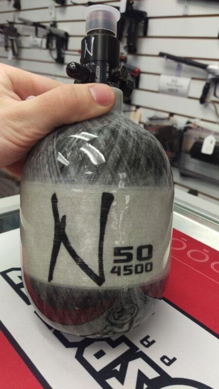 Ninja Paintball Grey Ghost Carbon Fiber Tank - 50 / 4500 - HPA  FREE SH!