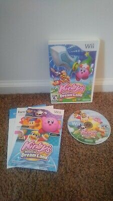 Kirby's Return to Dreamland (Nintendo Wii, 2011 - Complete with Manual) E10+