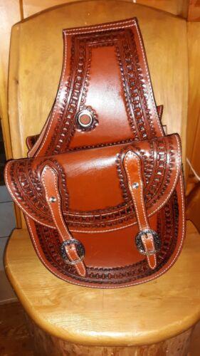 Showman Saddle Bags, Beautiful Tooling, NWT