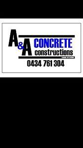 A&A concrete constructions Glossodia Hawkesbury Area Preview