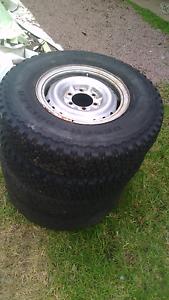 Bridgestone toyota tyres and rims Wyee Lake Macquarie Area Preview