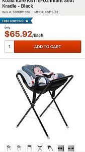 Car seat cradle