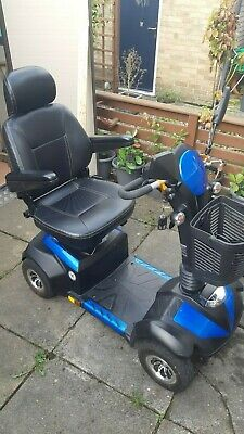 Drive Envoy 8 Mid Sized 8mph Mobility Scooter Blue Slightly used