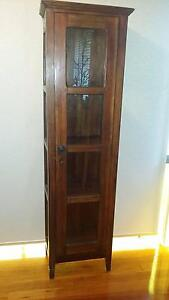 Wood and Glass Display Cabinet $29 each x 2 Everton Park Brisbane North West Preview