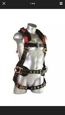 Guardian Fall Protection Seraph Construction Harness With Side D-rings. Xl-2xl