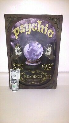 Halloween PROTOTYPE LIGHT UP TAROT PSYCHIC FORTUNE TELLER SIGN. May be GEMMY. .