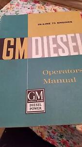 GM DIESEL OPERATORS MANUAL (in-line71 engines) Mandurah Mandurah Area Preview