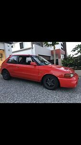 Mazda familia gtr 193kw. $8500,Swap rx7 mx5 type R Honda. Rochedale Brisbane South East Preview