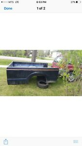 Ford super duty box 8ft