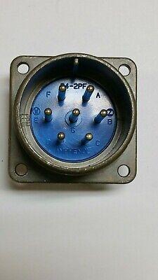 Amphenol 97-3102a-24-2p Circular Connector 7 Pin