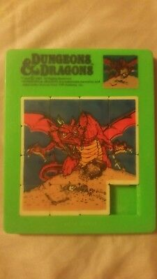 d&d slide puzzle tsr  dungeon & dragons (Puzzle Dungeon)