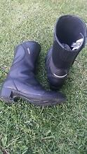 Ladies Leather Motorbike Boots Houghton Adelaide Hills Preview