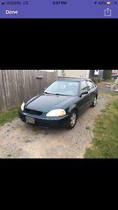 1998 Honda Civic ex 92 000 km