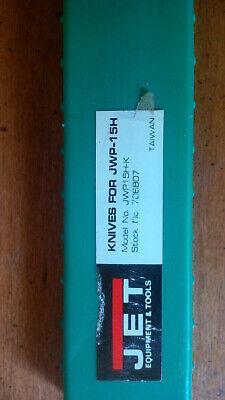 Jet Jwp-15h 708807 15 Planer Knife Set 3 Knives W Plastic Case