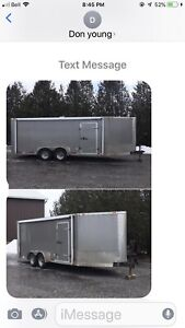 2013 ATLAS 23'x7' ENCLOSED TRAILER 7350.00