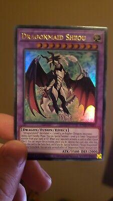 Yugioh IN HAND -  Dragonmaid Sheou -  ETCO-EN041 1st Ultra