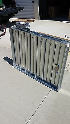 Greenheck Control Damper Vcd-23 38.50 X 48 With Honeywell Actuator New