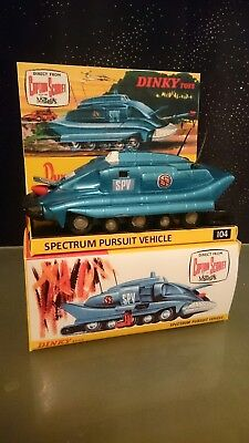 DINKY TOYS SPV 104 CAPTAIN  GERRY ANDERSON TV 50th ANNIVERSARY YEAR