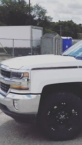 Trades!! Chrome bumper and headlights for Summit white