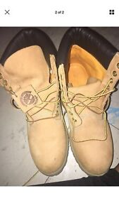 Men timberland boots size 8.5
