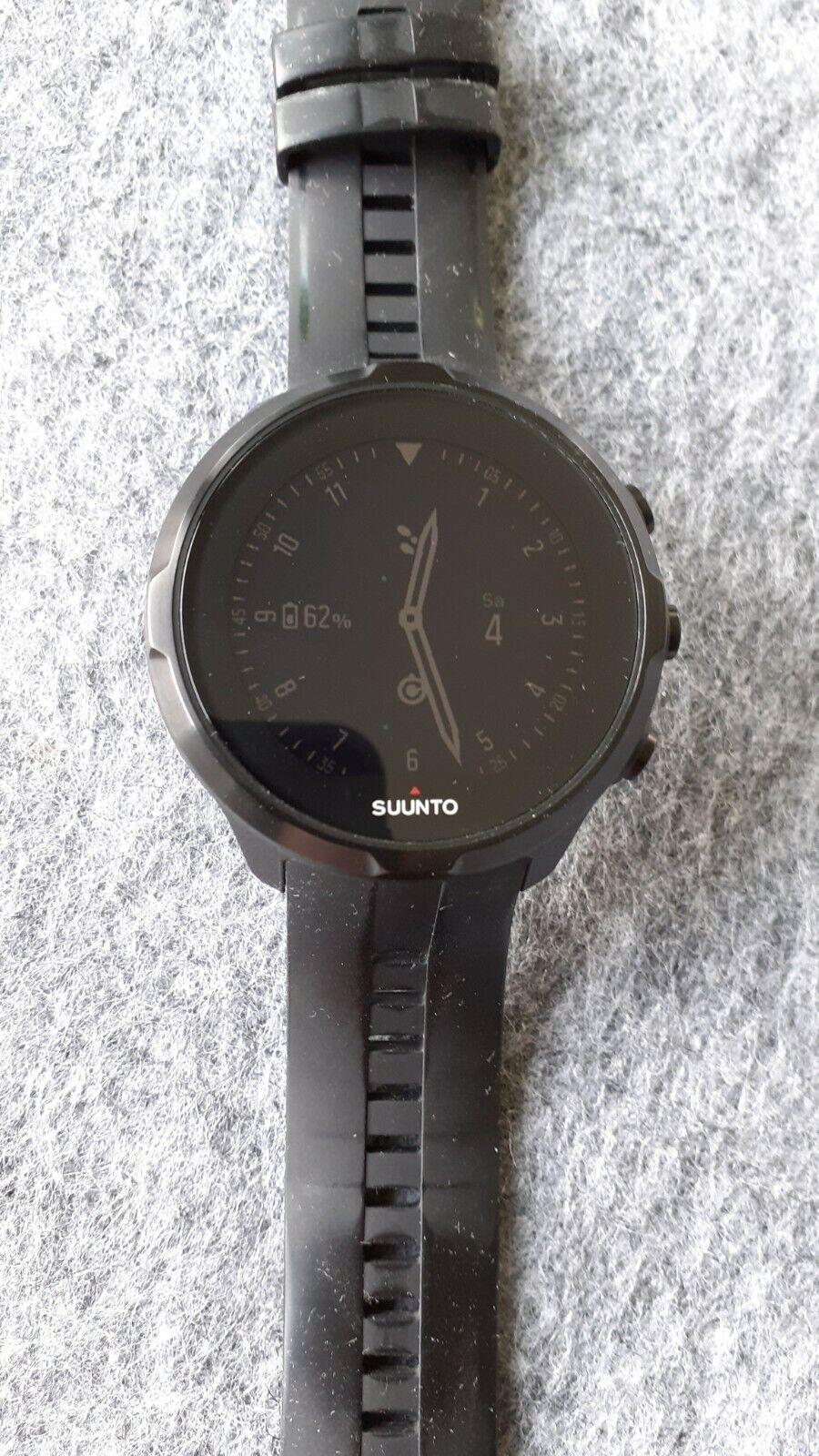 Suunto Spartan Sport Wirst HR GPS-Sportuhr - Schwarz (SS022662000)