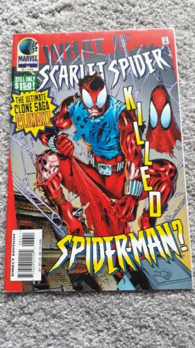 Marvel Comics - What If - No 86 - JUN 1996 - Scarlet Spider Killed Spider-Man