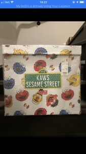Brand New UNIQLO Kaws Sesame Street Toy Complete Box