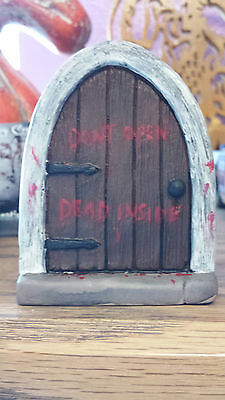 Halloween Open Door (Halloween Fairy door, mouse door, Zombie fairy door, don't open dead)
