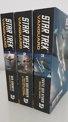 Bd.1, 2 und 3  CROSSCULT, NEUwertig & UNGELESEN! (Star Trek Erwachsener)