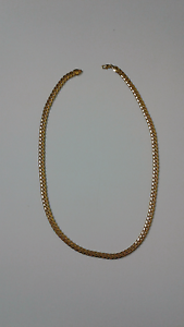 Mens Curb link chain Necklace Gold Plate Fashion Jewellery Kelso Townsville Surrounds Preview