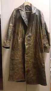Vintage leather flying coat from first or second world war Rokewood Golden Plains Preview