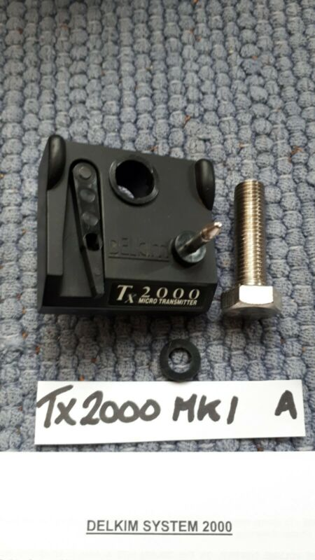 Delkim Tx2000 mk1 VGC / GOOD COND + LONG BOLT & O RING + INSTRUCTION SHEET