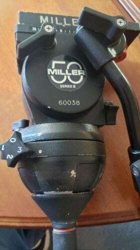 Miller 50 Fluid Head