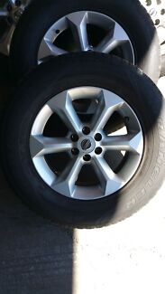 """PRICE DROP! 4 x 17"""" Nissan Navara D40 rims and tyres Victoria Point Redland Area Preview"""
